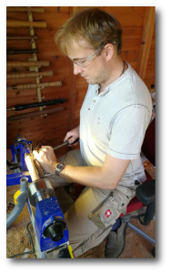 Rob woodturning